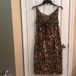 ⚡️FINAL PRICE⚡️ Moschino Sheer Silk Leopard Dress